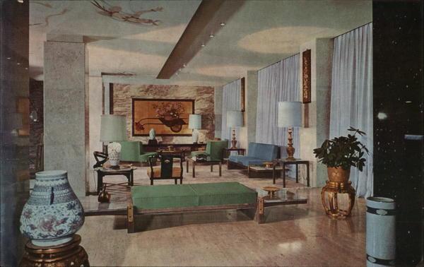 Hotel Lobby, Ambassador Hotel