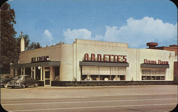 Arnette's Drive-In Restaurant Petersburg Virginia