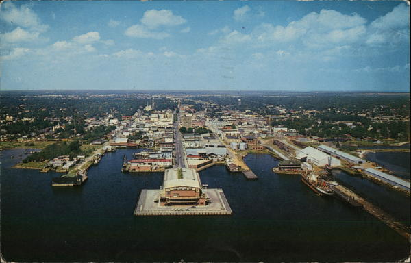 Air View Pensacola Florida