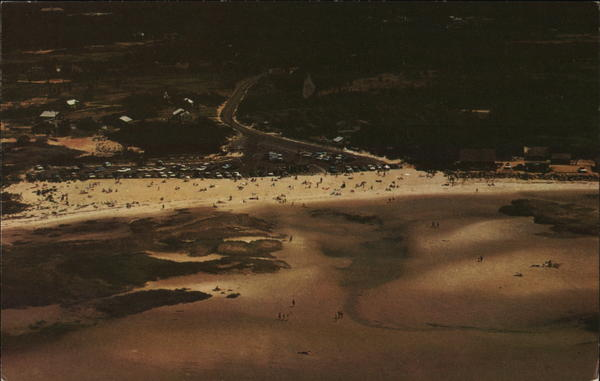Aerial View of Skaket Beach, Cape Cod Orleans Massachusetts