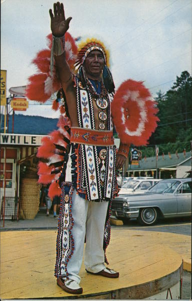 Ramsey Walkingstick - Cherokee Indian Cherokee Indian Reservation North Carolina