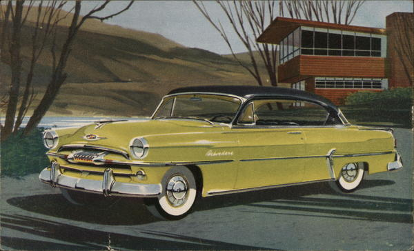 Plymouth Belvedere Sport Coupe 1954 Cars