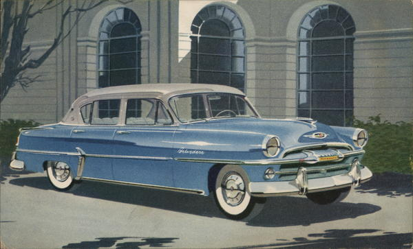 Plymouth Belvedere Four Door Sedan 1954 Cars