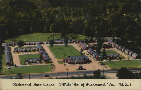 Richmond Auto Court Virginia