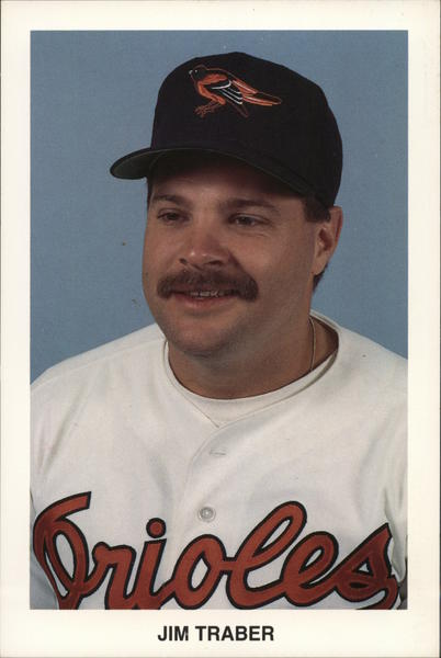 Jim Traber, Baltimore Orioles Baseball