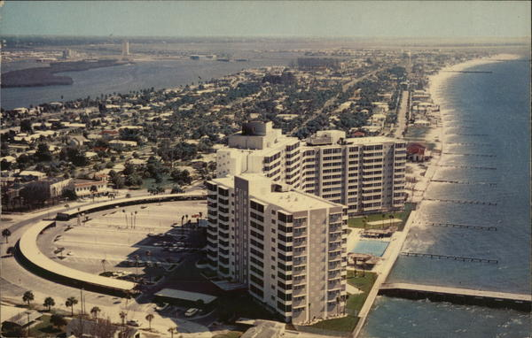 Air View of Clearwater Florida