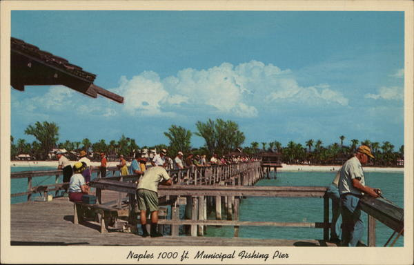 Naples 1000 ft. Municipal Fishing Pier Florida