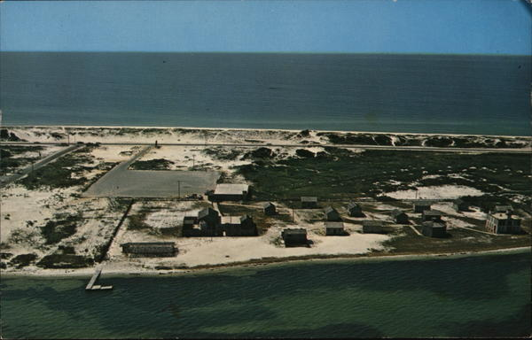 Aerial View Pensacola Beach Florida
