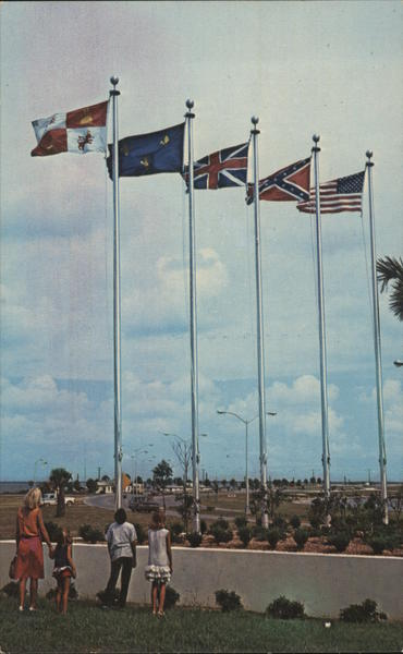Five Flags of Pensacola's Historic Past Florida