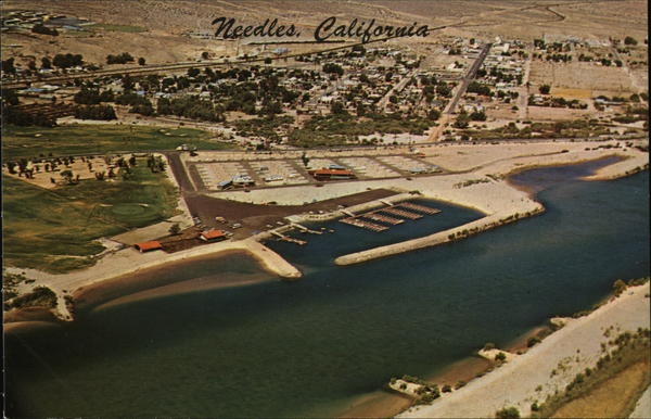 Aerial View Needles California