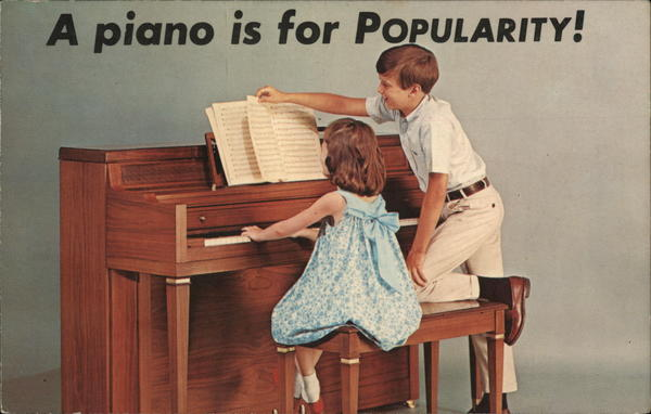 A Piano is for Popularity Pianos