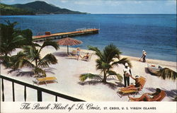 The Beach Hotel of St. Croix Postcard