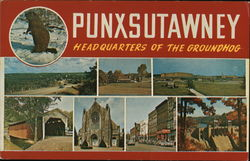 Headquarters of the Groundhog Postcard