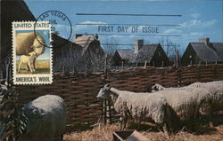 America's Wool, First Day of Issue