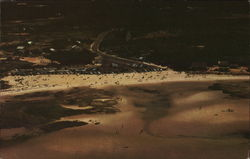 Aerial View of Skaket Beach, Cape Cod