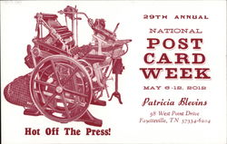 National Post Card Week