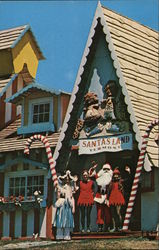 Santa's Land USA Postcard