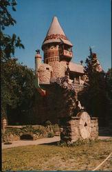 Unique Gingerbread Castle