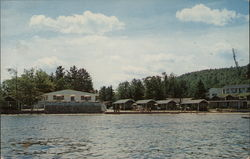 Sandy Point Beach Resort and Kitchenette Cottages Postcard