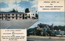 Admiral Motel and Jolly Fisherman Restaurant