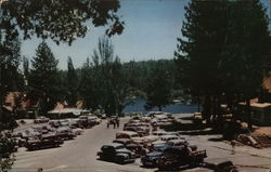 Parking Lot at Lake Arrowhead Village
