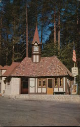 Lake Arrowhead Post Office Postcard