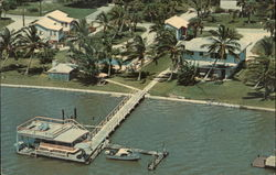 Cobb's Bay N Gulf Cottages Postcard