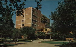 Language and Literature Building Postcard