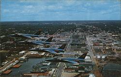The Blue Angels, Navy's Famed Flight Demonstration Team Over