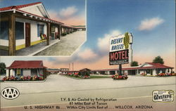 Desert Breeze Motel Postcard