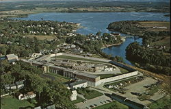 Maine State Prison with Georges River and Harbor