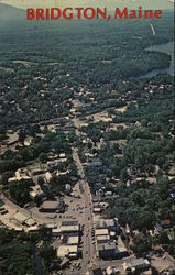 Aerial View Looking West Down the Main Street