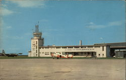 Operations Building and Tower, U.S. Naval Air Station