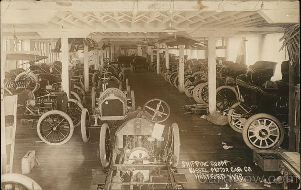 Kissel Motor Car Co. - Shipping Room Hartford Wisconsin