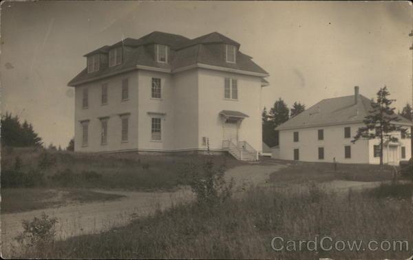 Town Hall and Masonic Hall Islesboro Maine