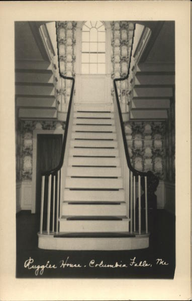 Ruggles House Staircase Columbia Falls Maine