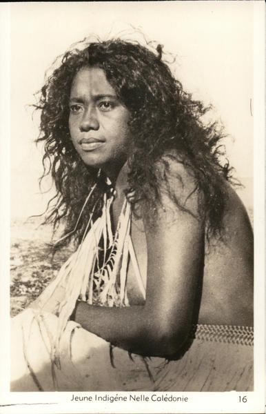 Young Indigenous Girl of New Caledonia