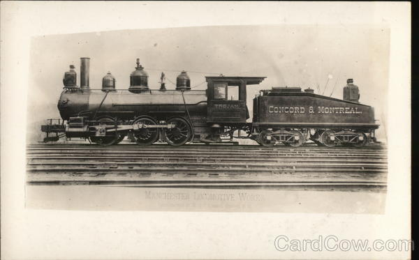 Concord & Montreal Trojan Locomotives