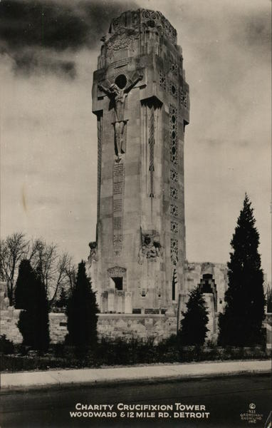 Charity Crucifixion Tower Royal Oak Michigan