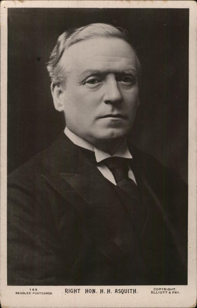 Right. Hon. H.H. Asquith, Former Prime Minister United Kingdom UK
