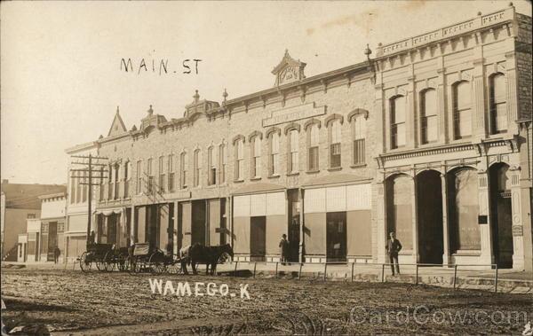 Main Street Wamego Kansas