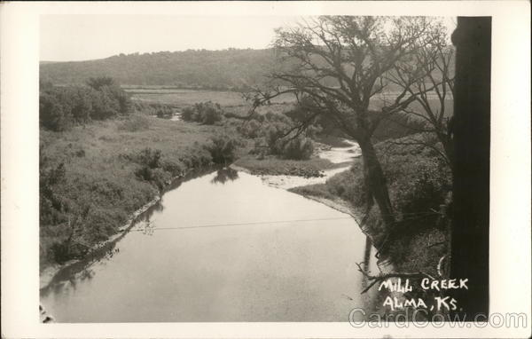 Mill Creek Alma Kansas
