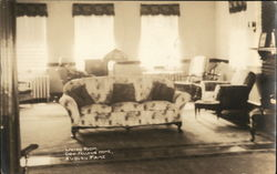 Odd Fellows Home - Living Room