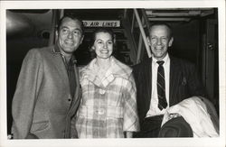 Tony Martin, Cyd Charisse and Fred Astaire