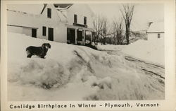 Coolidge Birthplace in Winter