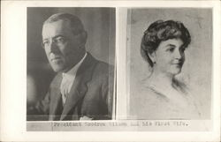 President Woodrow Wilson and His First Wife