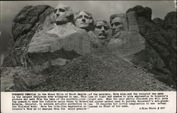 Mt Rushmore Memorial