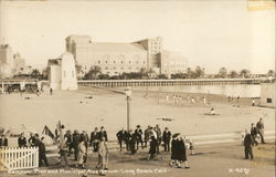 Rainbow Pier and Municipal Auditorium Postcard