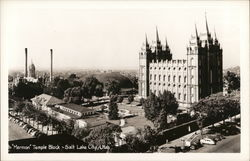 Mormon Temple Block