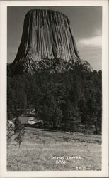 Devil's Tower Postcard